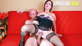 CastingAllaItaliana - Rough Anal About A difficulty Kitchen With Asia X