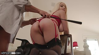 Ass whipped and required up by way of sex for a complete maledom