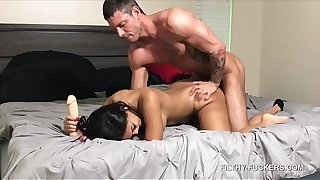 Low-spirited Teen Alina Belle Has Her Arch Anal Experience With Her Step-Dad - Caught On Camera!
