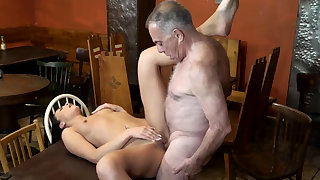 Old physicality daddy and panhandler young whore first time Can you