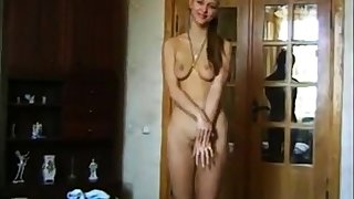 He express regrets his stepsister to strip and fuck on cam. Part 1